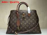 Louis Vuitton Flower Tote Monogram Caramel Brown M43770 Replica