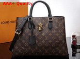 Louis Vuitton Flower Tote Monogram Coated Canvas Noir M43550 Replica