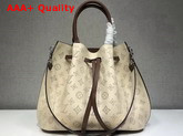 Louis Vuitton Girolata Cream Mahina Perforated Leather Replica