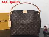 Louis Vuitton Graceful PM Hobo Monogram Coated Canvas Pivoine Lining M43700 Replica