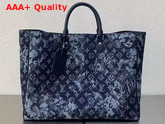 Louis Vuitton Grand Sac Monogram Tapestry Coated Canvas M57294 Replica