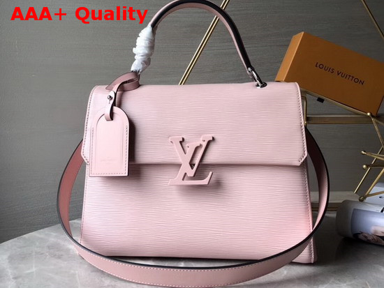 Louis Vuitton Grenelle MM Rose Ballerine Epi Grained Cowhide Leather Replica