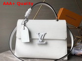 Louis Vuitton Grenelle MM White Epi Grained Cowhide Leather M53690 Replica