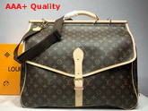 Louis Vuitton Hunting Bag Monogram Canvas M41140 Replica M41140