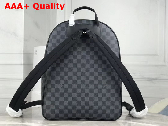 Louis Vuitton Josh Backpack in Damier Graphite Canvas with a World Map Print N40199 Replica