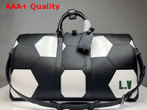 Louis Vuitton Keepall Bandouliere 50 Black Epi Leather FIFA World Cup Edition Replica