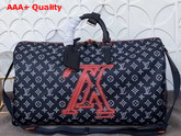 Louis Vuitton Keepall Bandouliere 50 Monogram Upside Down Canvas Replica