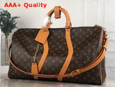 Louis Vuitton Keepall Bandouliere 50 in Emblematic Monogram Canvas M44880 Replica