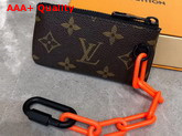 Louis Vuitton Key Pouch Monogram Solar Ray Coated Canvas M44487 Replica