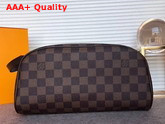Louis Vuitton King Size Toiletry Bag Damier Ebene Canvas N47527 Replica
