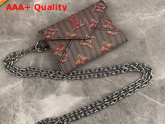 Louis Vuitton Kirigami Necklace Monogram LV Pop Pink Replica