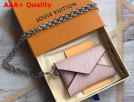 Louis Vuitton Kirigami Necklace Rose Ballerine Epi Leather M68557 Replica
