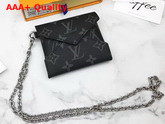 Louis Vuitton Kirigami Necklace in Monogram Eclipse Canvas Replica
