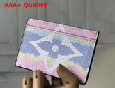 Louis Vuitton LV Escale Card Holder in Pastel Pink Replica