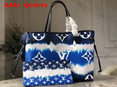 Louis Vuitton LV Escale Neverfull MM Bleu M45128 Replica
