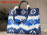 Louis Vuitton LV Escale Onthego GM Bleu M45120 Replica