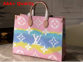 Louis Vuitton LV Escale Onthego GM Pastel M45119 Replica