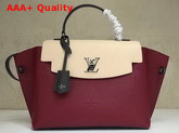 Louis Vuitton Lockme Ever Lie De Vin Etain Creme Calfskin M52431 Replica
