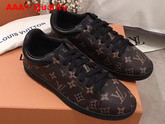 Louis Vuitton Luxembourg Sneaker in Brown Monogram Canvas 1A4PAF Replica 1A4PAF