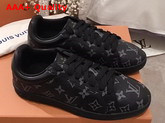 Louis Vuitton Luxembourg Sneaker in Monogram Eclipse Canvas 1A4PB0 Replica 1A4PB0