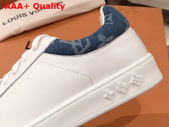 Louis Vuitton Luxembourg Sneaker in White Calf Leather Replica