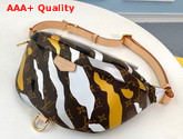 Louis Vuitton Lvxlol Bumbag Monogram Canvas with Gold and Silver Camouflage Replica