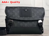 Louis Vuitton Messenger MM Voyager Monogram Eclipse Canvas M40510 Replica