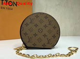Louis Vuitton Micro Boite Chapeau Monogram Eclipse Canvas and Calf Leather Replica