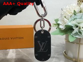 Louis Vuitton Military Tab Charm and Key Holder Black M67778 Replica