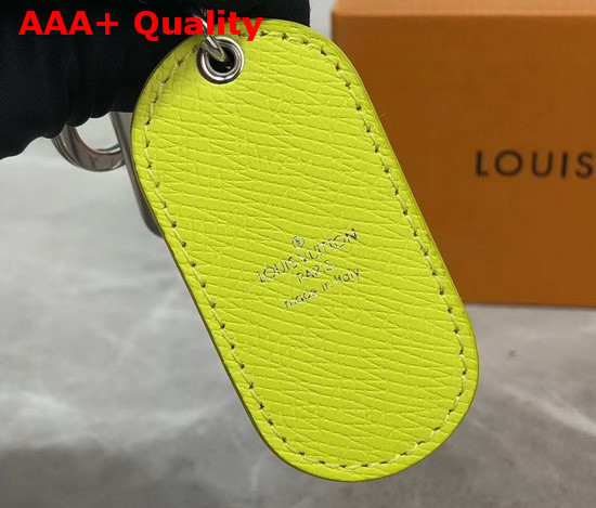 Louis Vuitton Military Tab Charm and Key Holder Yellow M67780 Replica