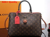 Louis Vuitton Millefeuille Monogram Noir Rouge M44254 Replica