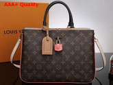 Louis Vuitton Millefeuille Monogram Sesame Peche M44255 Replica
