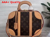 Louis Vuitton Mini Luggage Monogram Canvas and Aged VVN Cowhide M44581 Replica M44581