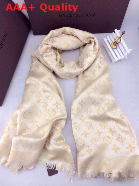 Louis Vuitton Monogram Cashmere Scarf Replica
