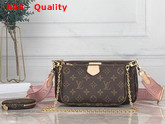 Louis Vuitton Multi Pochette Accessoires Digital Elclusive Prelaunch Rose Clair M44840 Replica