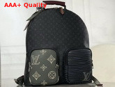 Louis Vuitton Multi Pocket Backpack in Monogram Eclipse Canvas Replica