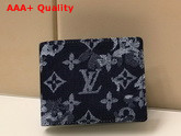 Louis Vuitton Multiple Wallet Monogram Tapestry Coated Canvas M80031 Replica