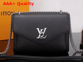 Louis Vuitton Mylockme BB Black Soft Calfskin Replica