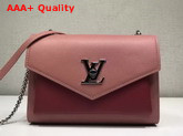 Louis Vuitton Mylockme BB Lockme Burgundy Rose Replica