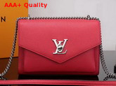 Louis Vuitton Mylockme BB Red Soft Calfskin M51419 Replica