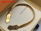 Louis Vuitton Nanogram Bracelet Gold Color Hardware M68992 Replica