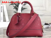 Louis Vuitton Neo Alma BB Handbag in Cherry Berry Monogram Empreinte Leather M44866 Replica