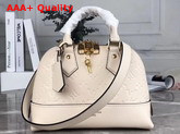 Louis Vuitton Neo Alma BB Handbag in Creme Monogram Empreinte Leather M44858 Replica
