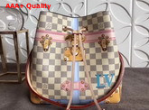 Louis Vuitton Neonoe Damier Azur Printed Damier Azur Coated Canvas with Calf Leather Trim N41066 Replica N41066