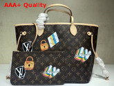 Louis Vuitton Neverfull MM My LV World Tour Monogram Replica