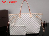 Louis Vuitton New Neverfull GM Damier Azur Canvas N41360 Replica