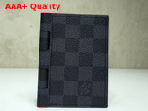 Louis Vuitton New Pocket Organizer Damier Graphite Canvas Replica