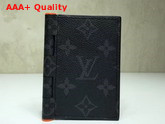 Louis Vuitton New Pocket Organizer Monogram Eclipse Canvas Canvas Replica