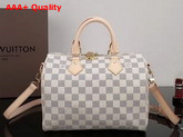 Louis Vuitton New Speedy Bandouliere 25 Damier Azur Canvas Replica