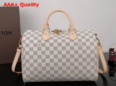 Louis Vuitton New Speedy Bandouliere 30 Damier Azur Canvas Replica